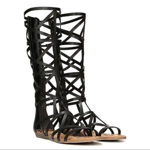 Fergalicious Graceful Gladiator Sandal Black